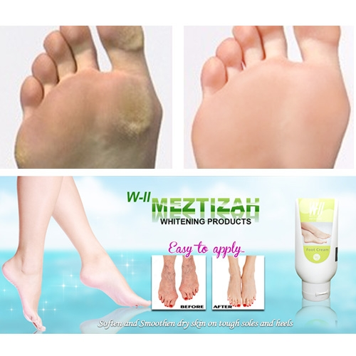 WII Meztizah Whitening Foot Cream