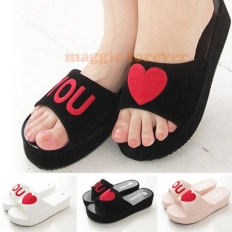 Love You Korea Sandals - fashion,shoes