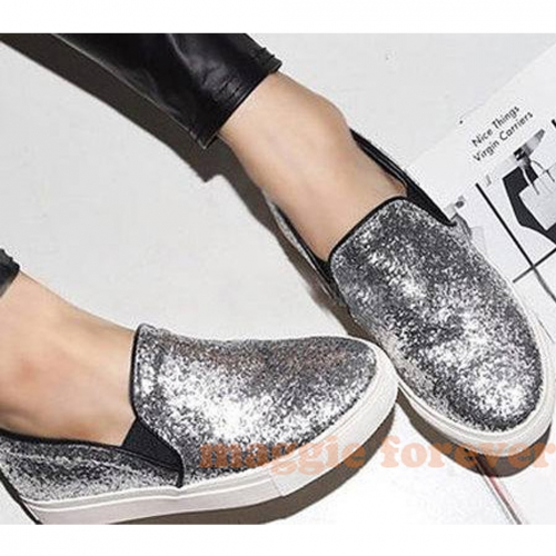 Fashion Multi Sequins Sneakers