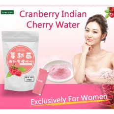 【IVENOR】Cranberry Indian Cherry Water (15 pack) -