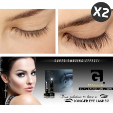 WII AMINO Long Lashes Solution - X2 - face,maintenance,care,body