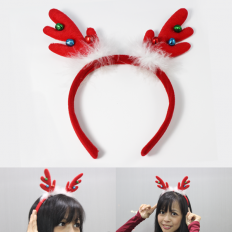 Christmas Reindeer Hair Band -