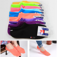 Taiwan Simple Short Socks (5 Pairs) - foot,sock,wear