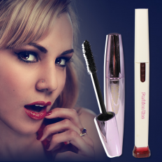 2 in 1 Electronic Eyelash Curler(Mascara + Curler)  -