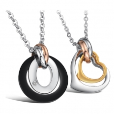 Couples Stainless Steel Necklace -