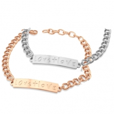 Couples Stainless Steel Bracelet -