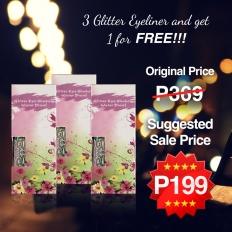 Glitter Eyeliner Waterproof - 4pc - makeup,eyeliner