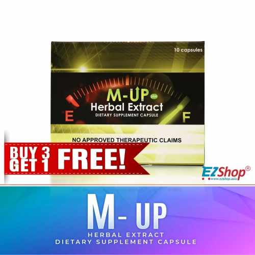 M-Up Extract 10'S  BUY 3 GET 1 FREE! AND GET 4 BIANCA HEALTH DRINK FOR FREE!!!
