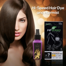 Refreshing Hair Mist + Hi-Speed 1 Min Hair Color -