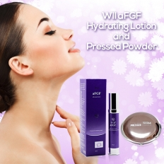 WII aFGF Hydrating Lotion + Press powder  -