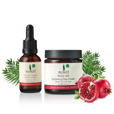 Rosehip Oil Anti-Aging Set - anti-aging,anti-wrinkle,moisturizing,rose