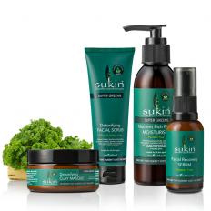 Super Greens Detoxifying Set -