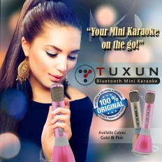 Tuxun Bluetooth Mini Karaoke -
