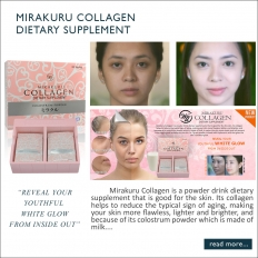 WII Mirakuru Collagen Powder Skin Care Anti-Aging 20 sachets per box  - SkinCare