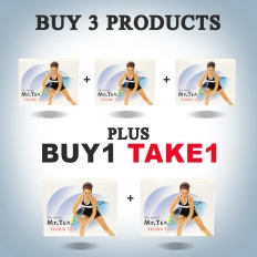 BUY 3 Products Plus Buy1 Take1 Mr. Tea 30s -