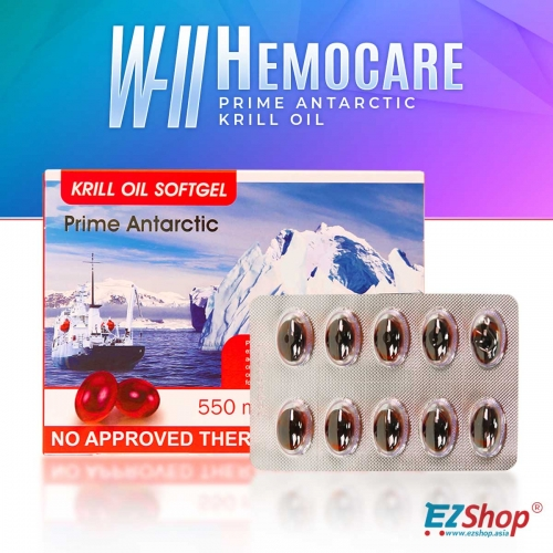 W-II Hemocare Krill Oil BUNDLE DUO! BUY NOW AND GET BIANCA HEALTH DRINK FOR FREE!