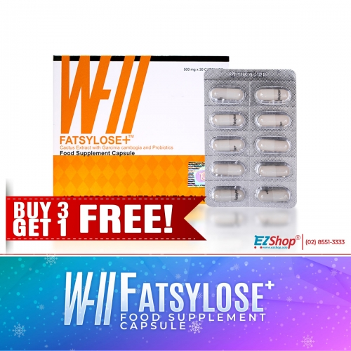 FATSYLOSE+ BUY 3 GET 1 FREE!!! AND GET 8 BIANCA SACHET FOR FREE!!!