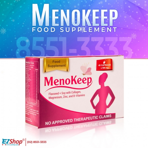 MENOKEEP BUY 3 GET 1 FREE!!! AND GET 4 BIANCA HEALTH DRINK FOR FREE!!!