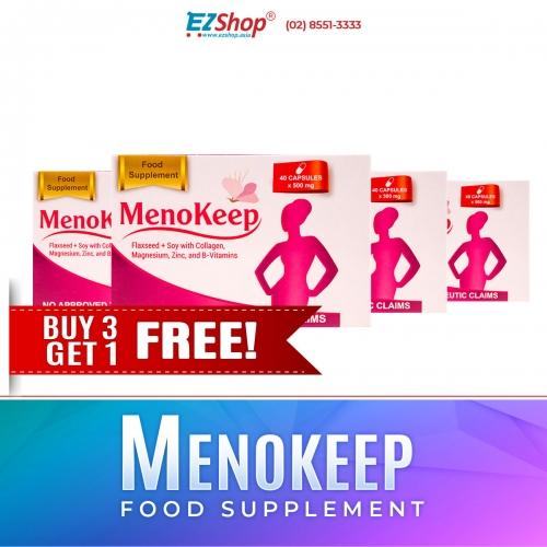 MENOKEEP BUY 3 GET 1 FREE!!!