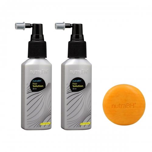 NutraBH Plus Solution With Shampoo Bar