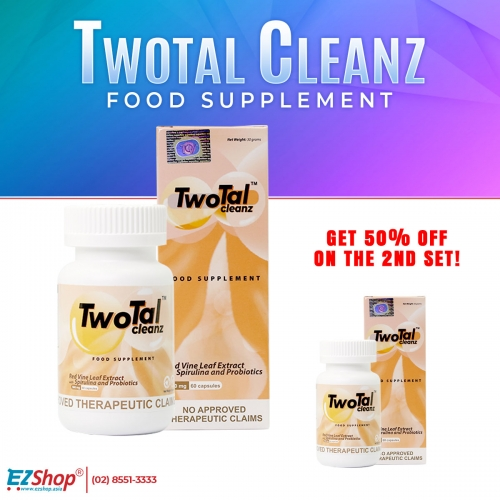 TWOTAL CLEANZ BUY 2 FOR THE PRICE OF 3,720!!!